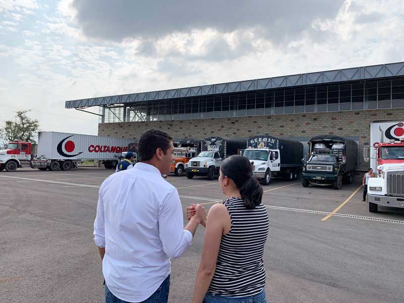 Ayuda humanitaria para Venezuela llega a la frontera de Colombia