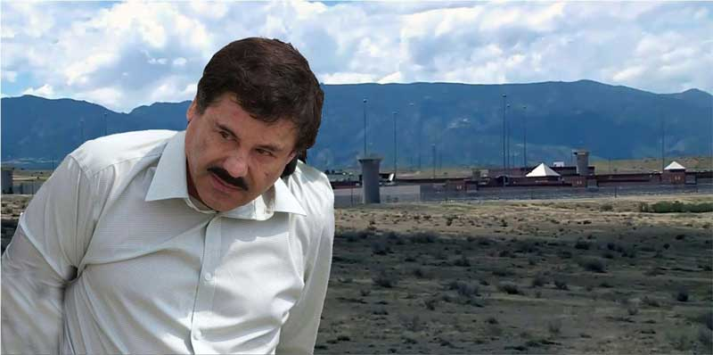 El Chapo estará preso en una celda que verá el sol 1 hora al día