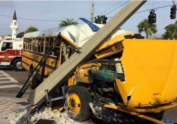 Unos 20 heridos al accidentarse autobús escolar en El Bronx