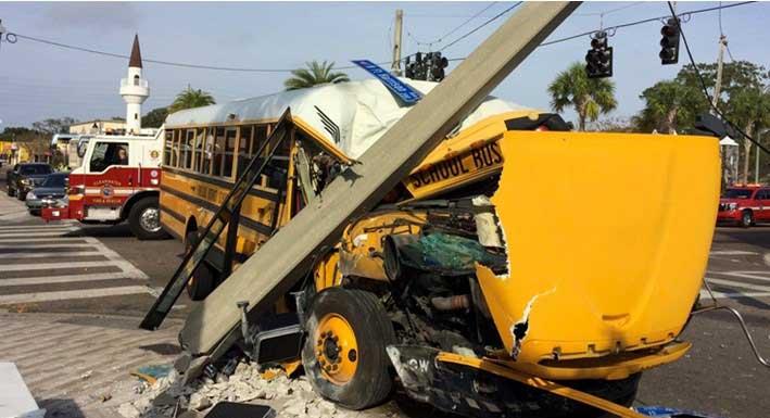 heridos autobus escolar