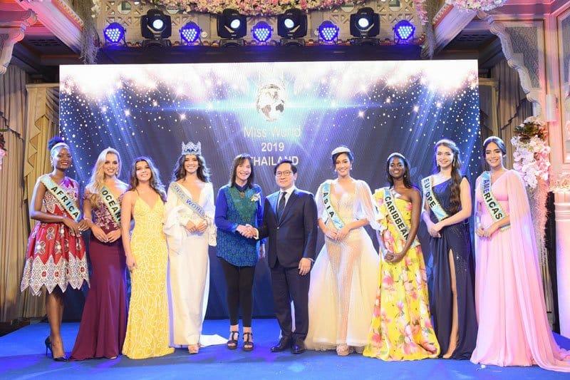 Tailandia será la sede de Miss Mundo 2019