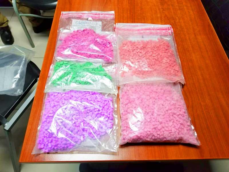 Ocupan 626 pastillas de éxtasis en Moca