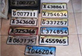 Grupo robaba placas de vehículos en Puerto Plata