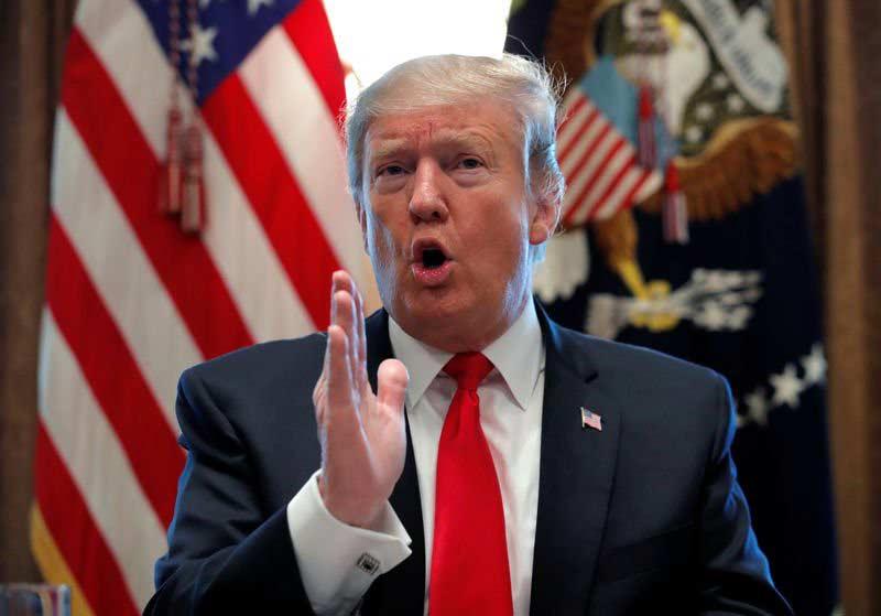 Trump no descarta opción militar para Venezuela