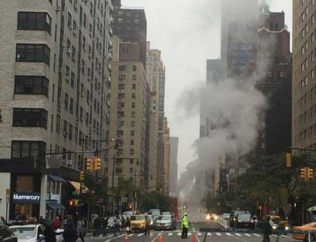 Explosiones subterráneas causan pánico en NY