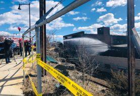 Restauran servicio Línea Azul afectada por incendio en East Boston