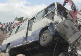 Un muerto y seis heridos accidente Azua-San Juan
