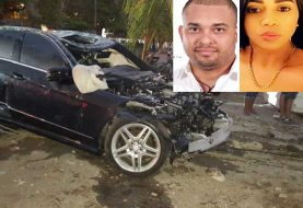 Bani: Dos muertos y 3 heridos al precipitarse carro al Mar Caribe
