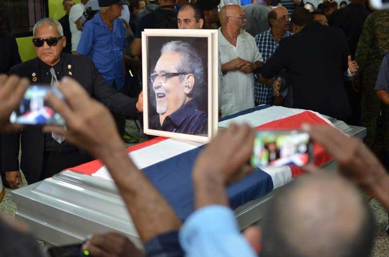 Sepultan restos de Anthony Ríos