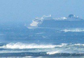 Rescatan  pasajeros crucero Viking Sky en costas de Noruega
