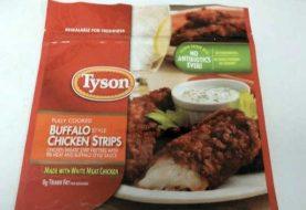 Tyson Foods retira 69 mil libras de tiras de pollo por contener metal