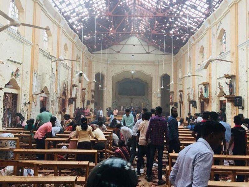 Ataques en Sri Lanka dejan muerte y destrucción