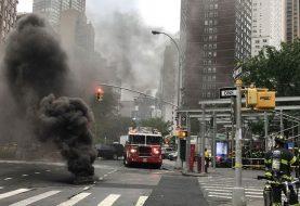 Cuatro heridos y pánico por explosiones subterráneas en Manhattan