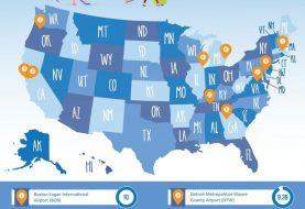 Los 10 aeropuertos más amigables para niños en EEUU