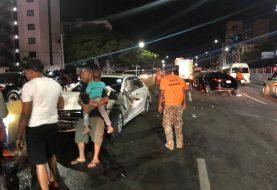 Un Policía muerto y otro gravemente herido embestidos por carro