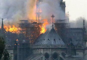 Dicen fue accidental fuego Catedral Notre Dame