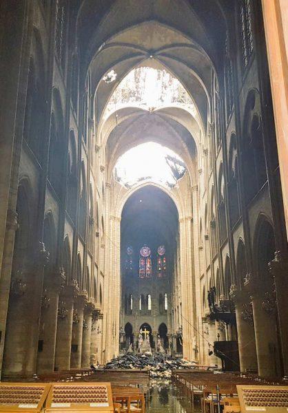 Papa espera Notre Dame vuelva a ser patrimonio humanidad