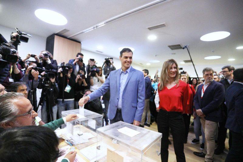 El PSOE de Pedro Sánchez gana las elecciones en España