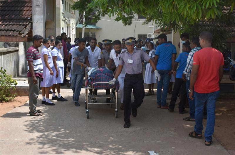 Sri Lanka identifica grupo sospechoso ataques
