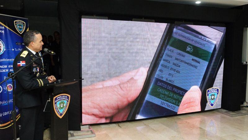 PN presenta sistema que permitirá depurar ciudadanos al instante
