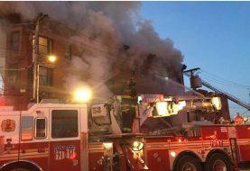 Seis personas mueren calcinadas en edificio Harlem