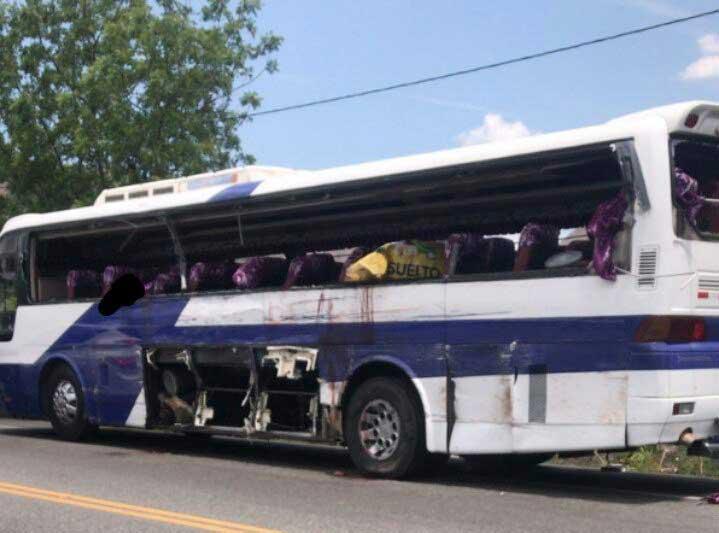 Azua: Tres muertos y siete heridos accidentes