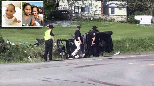 accidente familia dominicana