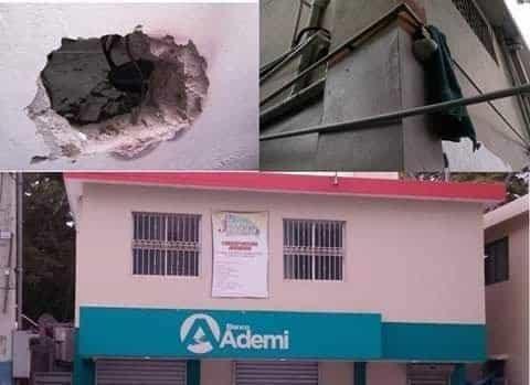 Investigan robo banco Ademi Tamboril