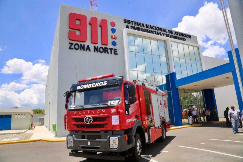 Sistema 9-1-1 entrega 27 camiones de bomberos
