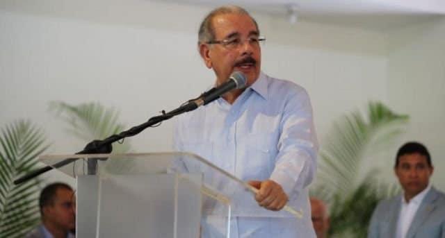 """Según Danilo Medina """"RD es un país de clase media"""""""
