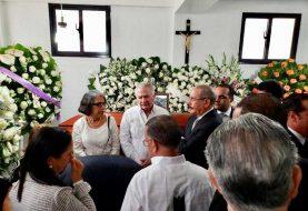 Medina acude a La Vega al velatorio empresario Medrano