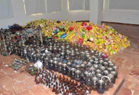 Incautan 500 hookahs en negocios de Santo Domingo Este