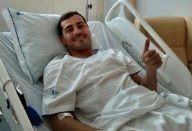 Iker Casillas se recupera tras sufrir ataque al corazón