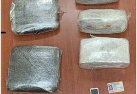 DICAN ocupa en Santiago más de 40 libras de marihuana