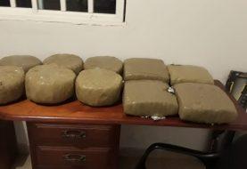 PN ocupa 100 libras de marihuana en Dajabón