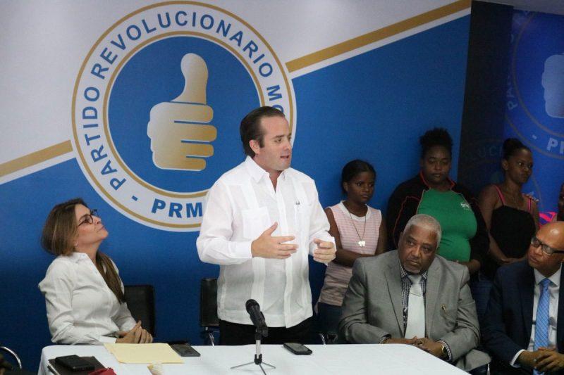 PRM acudirá a Tribunal Constitucional por arrastre