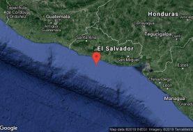 Un sismo de magnitud 6,6 sacude El Salvador