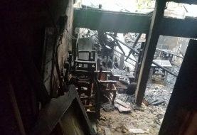 Fuego destruye taller de ebanistería en La Cayenas de Santiago