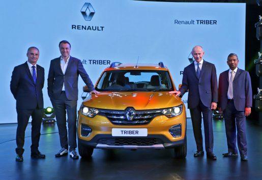 Renault TRIBER en India