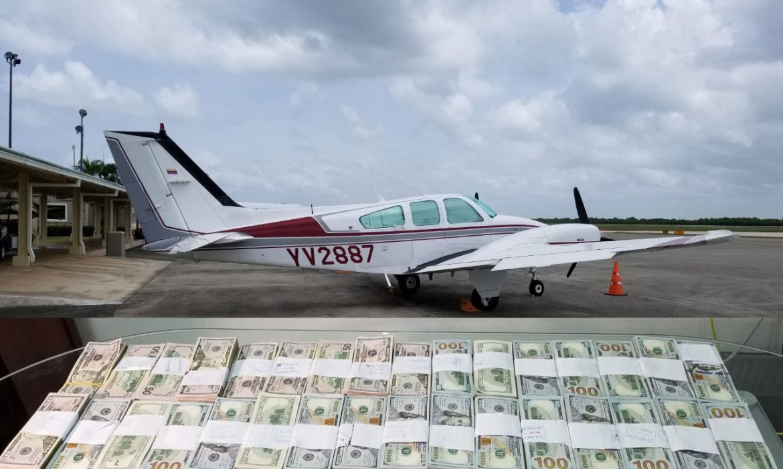 avioneta dolares venezolanos