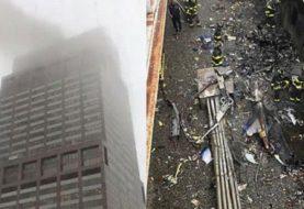 Autoridades NY descartan atentado terrorista con caída helicóptero
