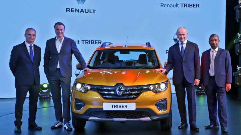 Estreno mundial de Renault TRIBER en India