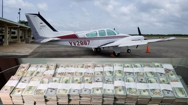 3 venezolanos intentaban sacar de RD US$1.3 millones