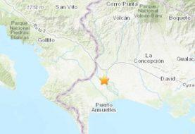 Sismo de 6.3 grados entre frontera de Panamá y Costa Rica