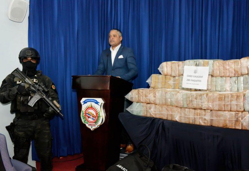 Incautan 280 paquetes de cocaína llegaron de Venezuela