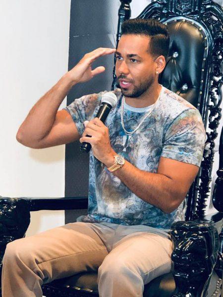 Romeo Santos lamenta situación que ocurrió con David Ortiz