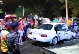 Al menos 10 muertos accidentes de tránsito