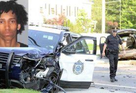 Tres policías heridos en persecución contra dominicano