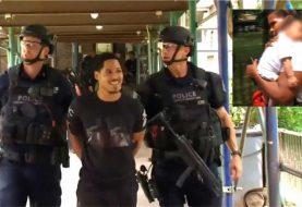 Dominicano ataca mujer, secuestra hijo y se atrinchera en edificio