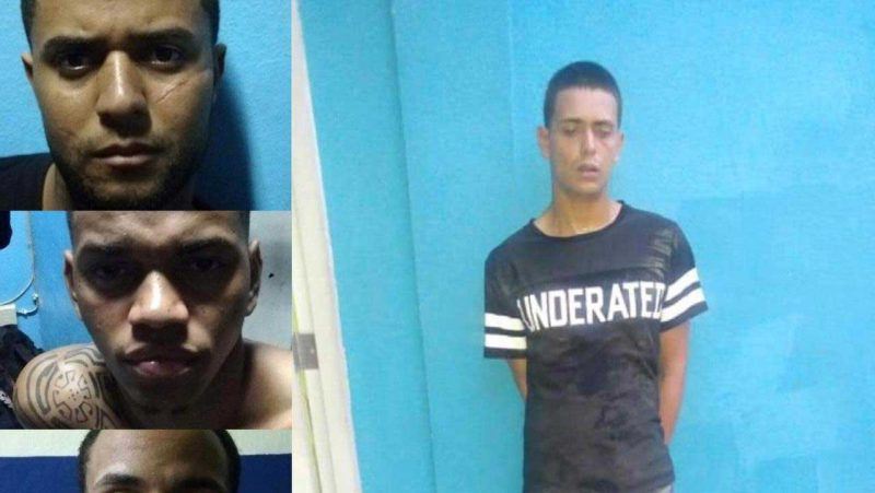 Seis presos escapan de cuartel de Moca
